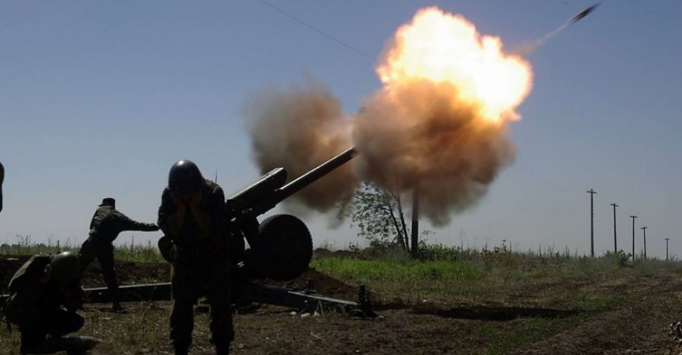Штаб сказал, что обстреляли наЛуганском направлении