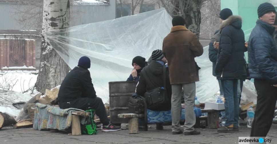 ВКиеве начался голодный бунт шахтеров