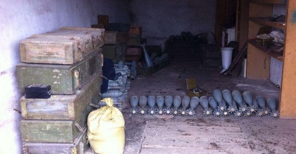 СБУ нашла наДонетчине два тайника сбольшим количеством боеприпасов