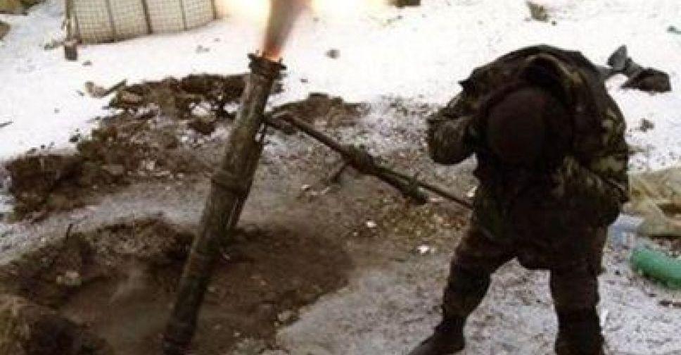 Штаб АТО: Боевики избивали из82-мм и120-мм минометов около Луганского